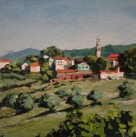 Mesovounia village from Vasilikades 8x8.