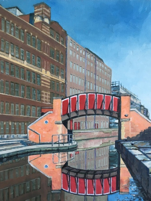 Red Canal Bridge, Ancoats, Manchester (A4)