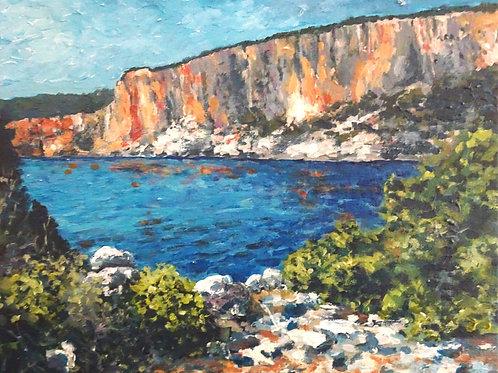 Cliffs near Alaties Beach