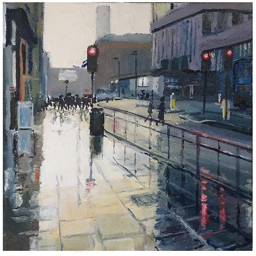 Portland Street (after the rain) 2019