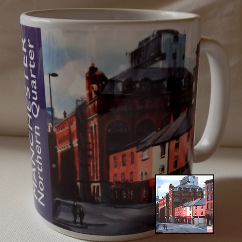 Mug: Port St in Manchester's NQ
