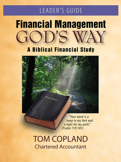 Financial Management God's Way – Leader's Guide