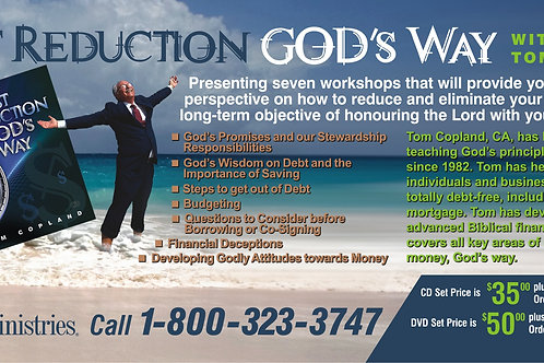 Debt Reduction God's Way for Individuals – CD