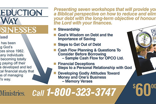 Debt Reduction God's Way for Businesses – CD