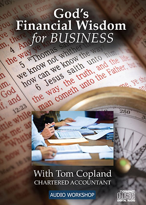 God's Financial Wisdom for Business – CD