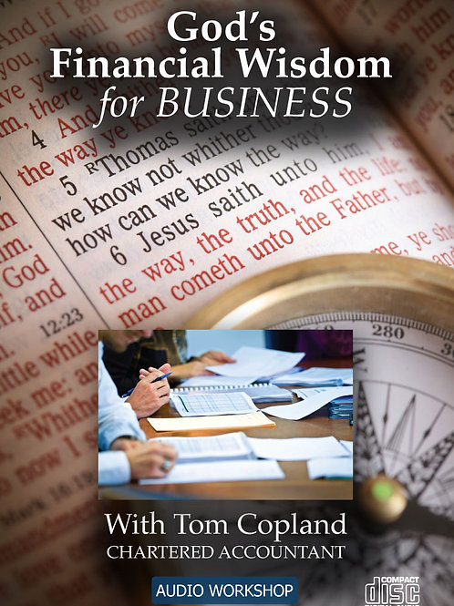 God's Financial Wisdom for Business – CD