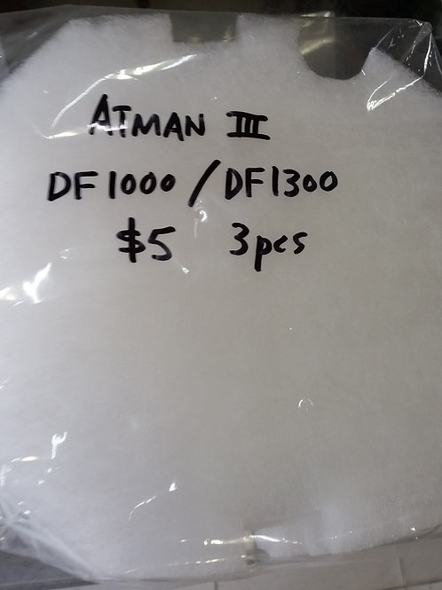 Filter Wool for Atman - DF1000/1300