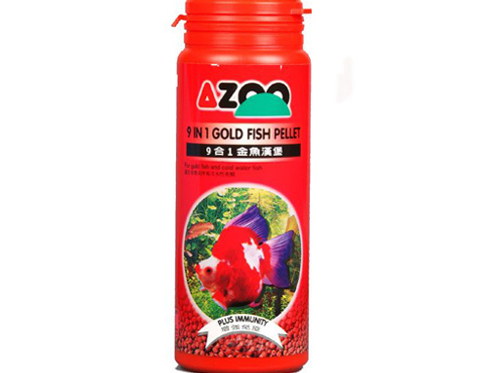 Azoo 9 in 1 ornamental fish flake