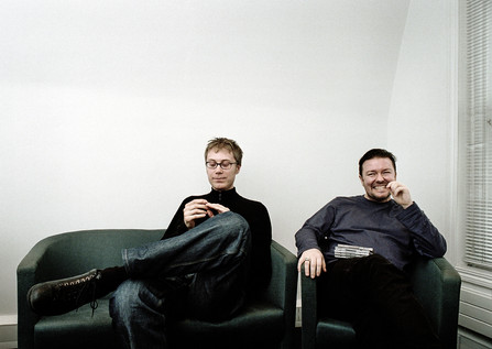 Stephen Merchant & Ricky Gervais