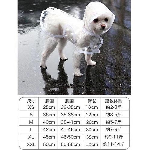 透明雨衣 (貓狗適用)