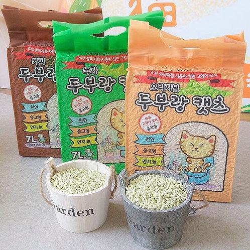 韓國豆腐砂 貓砂 7L