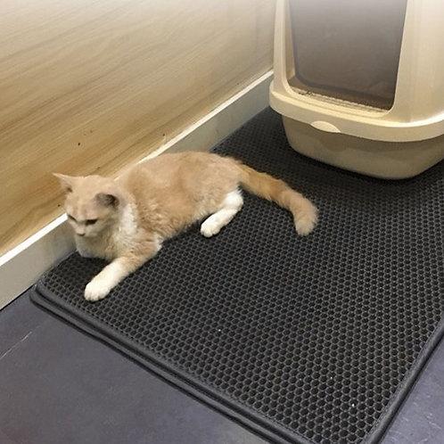 雙層貓砂墊 防水防滑防落砂