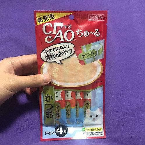 CIAO肉泥 4條裝 鏗魚