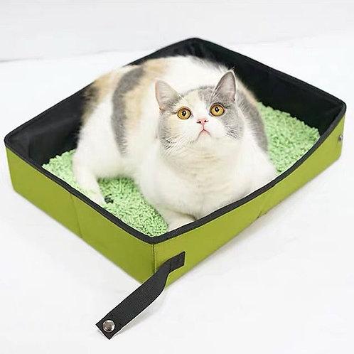 折疉移動貓砂盤