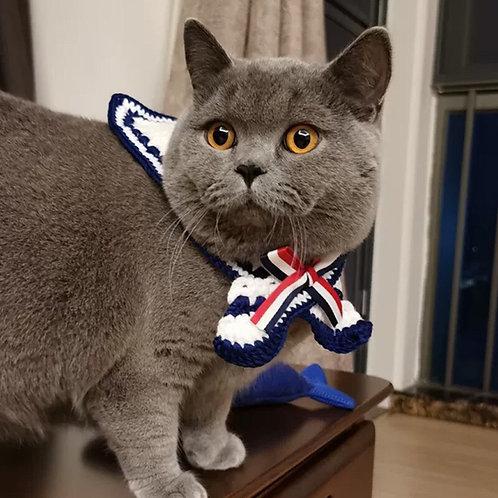 海軍風頸圈(貓狗適用)