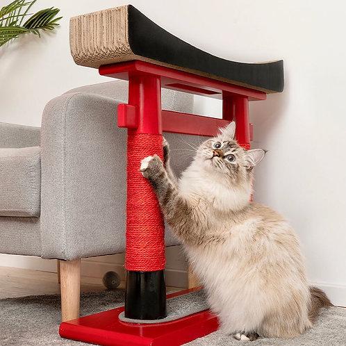 日式鳥居⛩️貓抓板