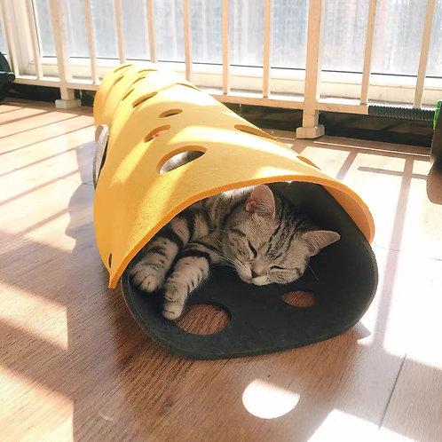 可折疊組裝貓隧道
