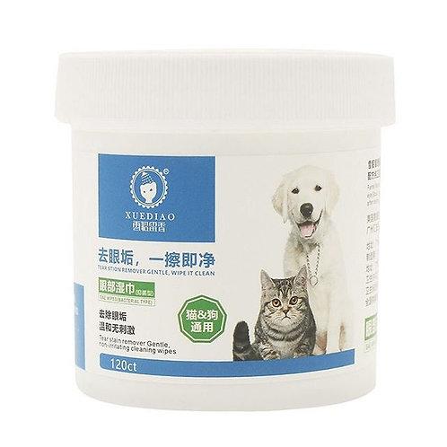 抹眼垢濕巾 120片 (貓狗適用)
