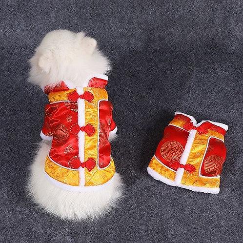 唐裝馬甲 秋冬衣服 (貓狗適用)