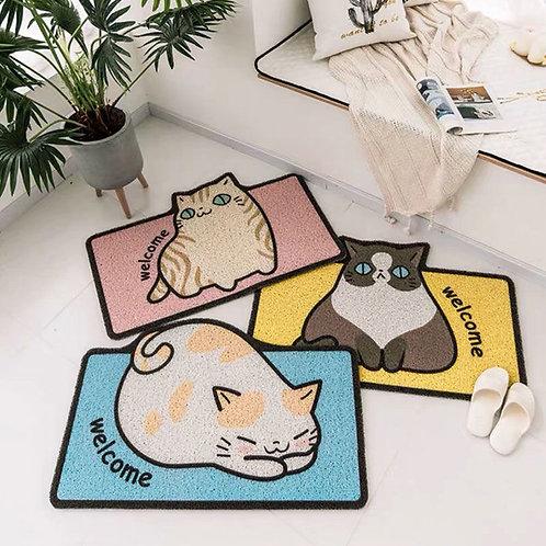 線圈地毯 貓地毯
