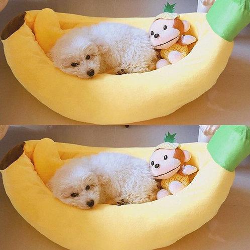 香蕉 寵物窩 貓窩 狗窩 (貓狗適用)