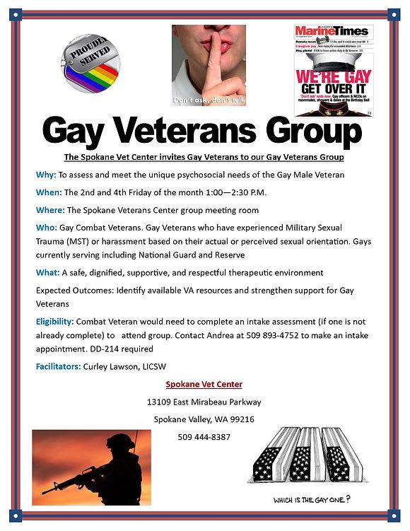 Gay Veterans Group - Updated 31 Jan 2019