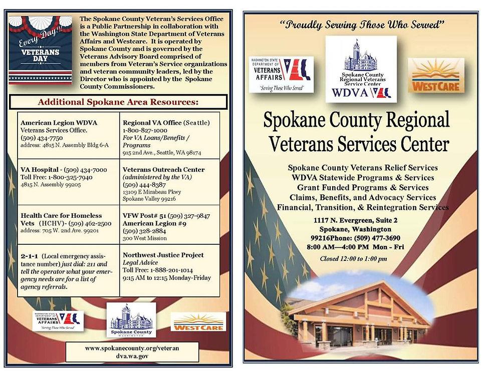 Spokane County Regional Veterans Service