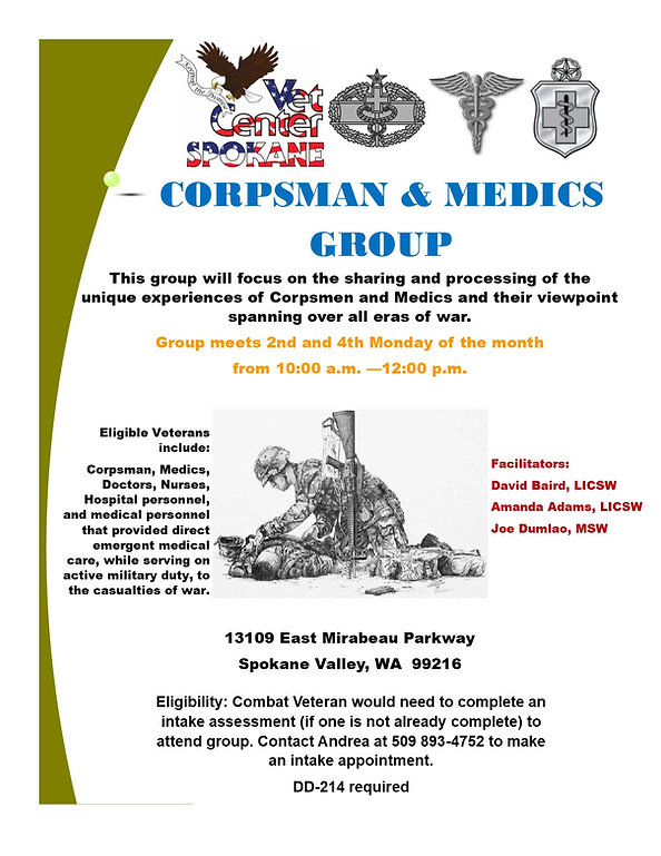 Corpsman and Medics Group - Updated 31 J