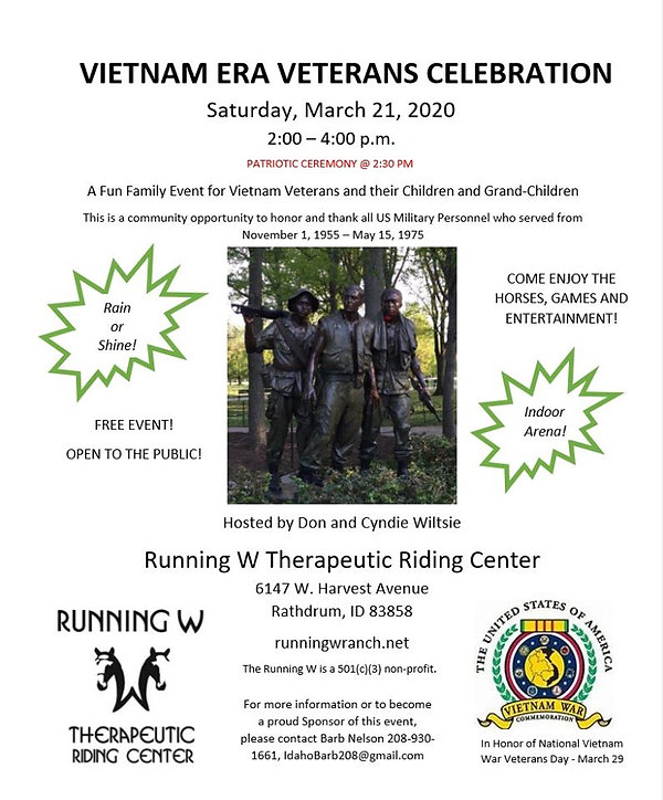 Vietnam Era Veterans Celebration - 21 Ma