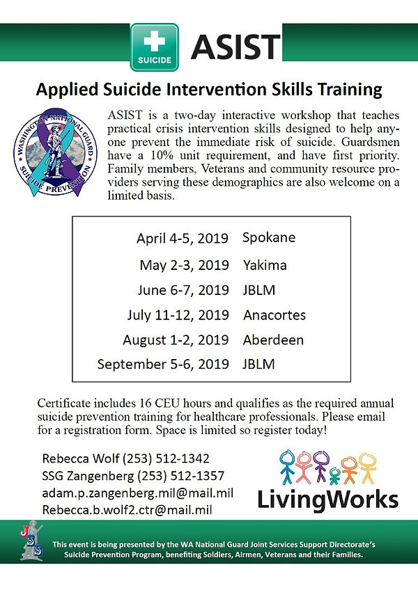 Applied Suicide Intervention Skills Trai