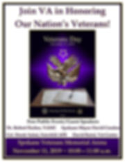 Honoring our Nation's Veterans - 11 Nov