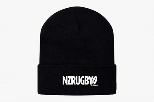 NZ Rugby World beanie
