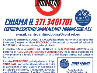 MOBBING E VIOLENZA SUL POSTO DI LAVORO