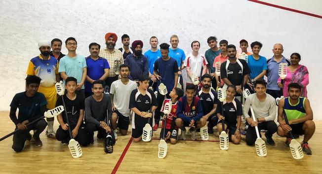 2018年印度VX世界盃選手合照