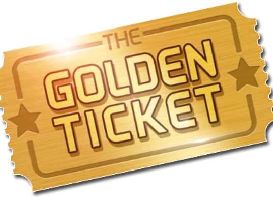 Golden Ticket $75 Here...I am buying the Golden Ticket
