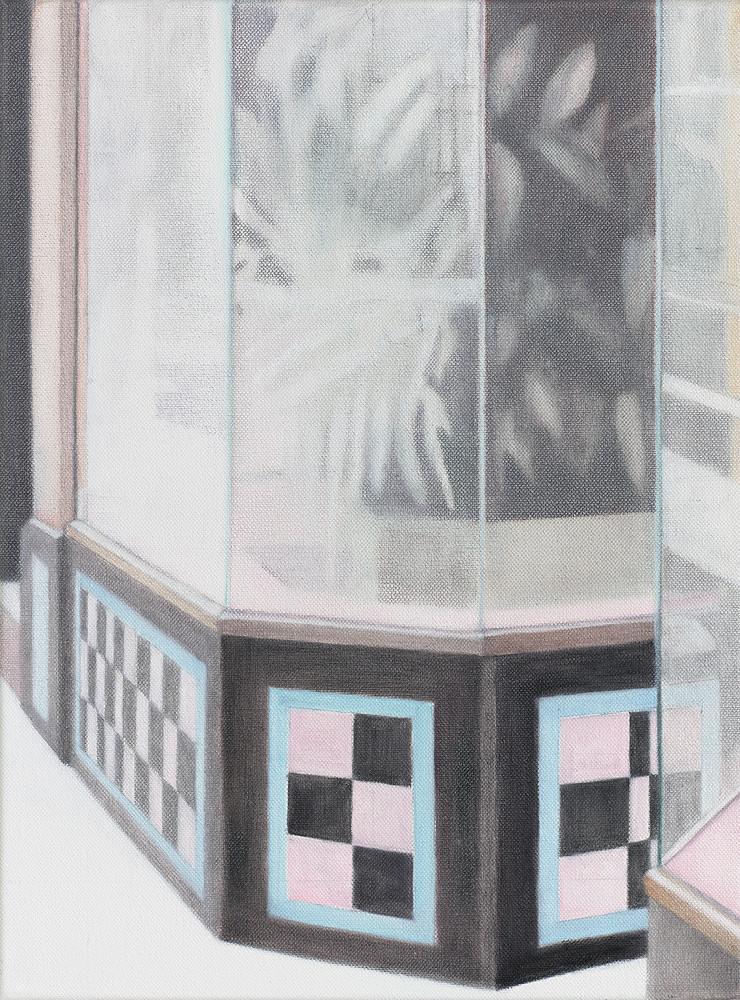 Serie SF Houses 2016 Öl/Lw 40x30cm