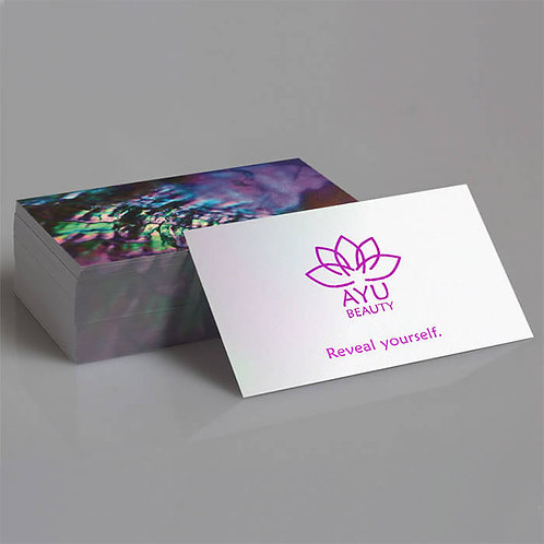 Business Cards - Pearl  (Double Sided)