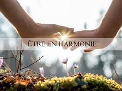 Etre en harmonie avec la nature