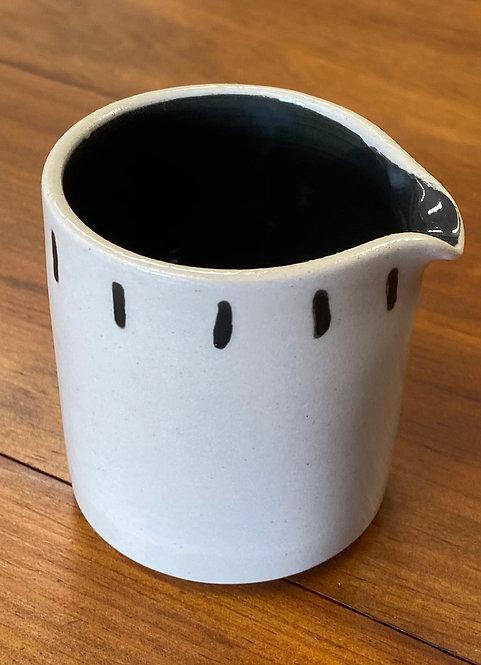 Pot à lait bicolore