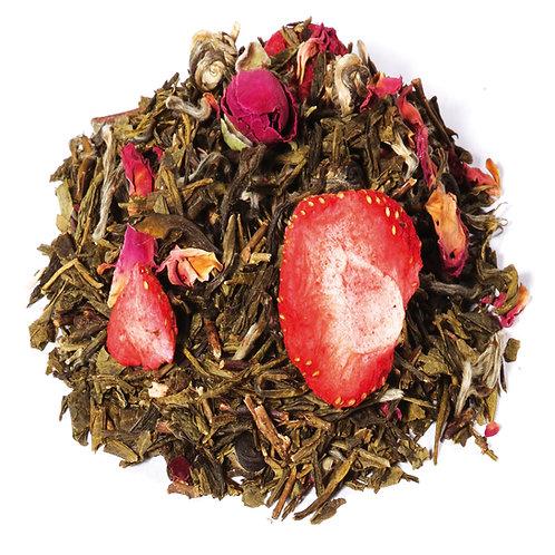 Paradis fruité de Chine BIO (sachet 100g) - Saveur fraise-framboise