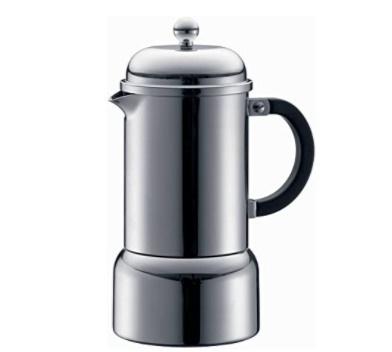 Cafetière italienne, BODUM CHAMBORD, 3 tasses, 0.18 l, induction