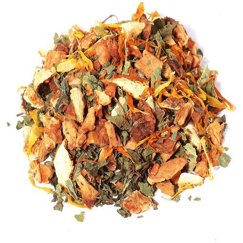 Infusion aux herbes pour le soir BIO (sachet 100g) - Saveur orange-mandarine