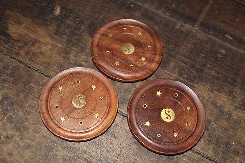 Round Incense Plates