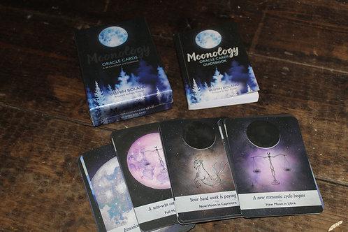 Moonology Oracle Card Deck by Yasmin Boland
