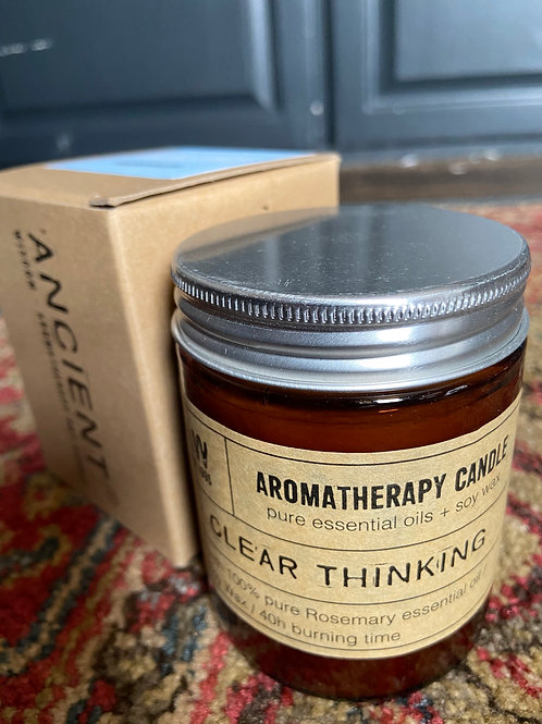 Clear Thinking Candle: Rosemary