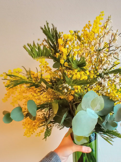 Brassée de mimosa mélangé