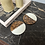 Thumbnail: Sous-tasses Caramel Marbré (par 2)
