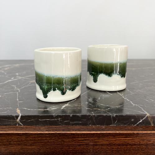 Tasses ligne Verte