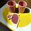 Thumbnail: Tasses Rose Framboise