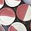 Thumbnail: Grande assiette plate Rose Framboise